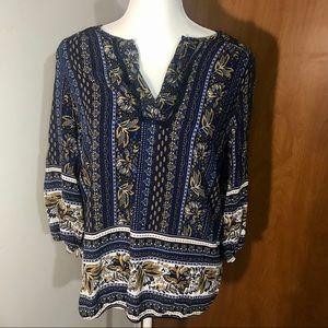 Westport pullover blouse